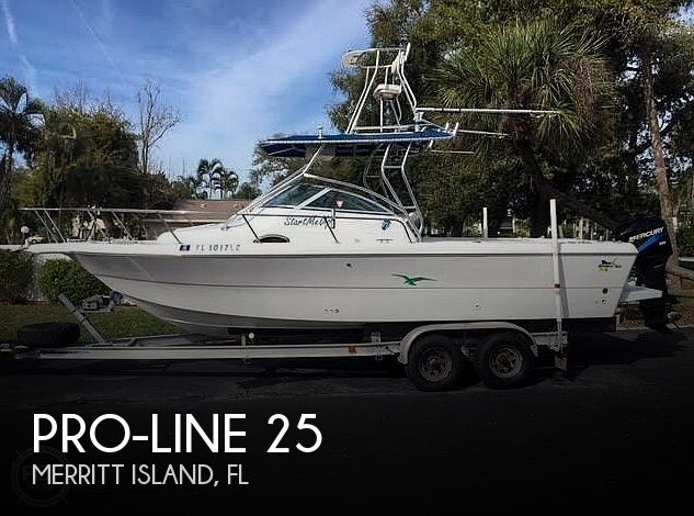 Used Boats For Sale by owner | 1999 Pro-Line 25