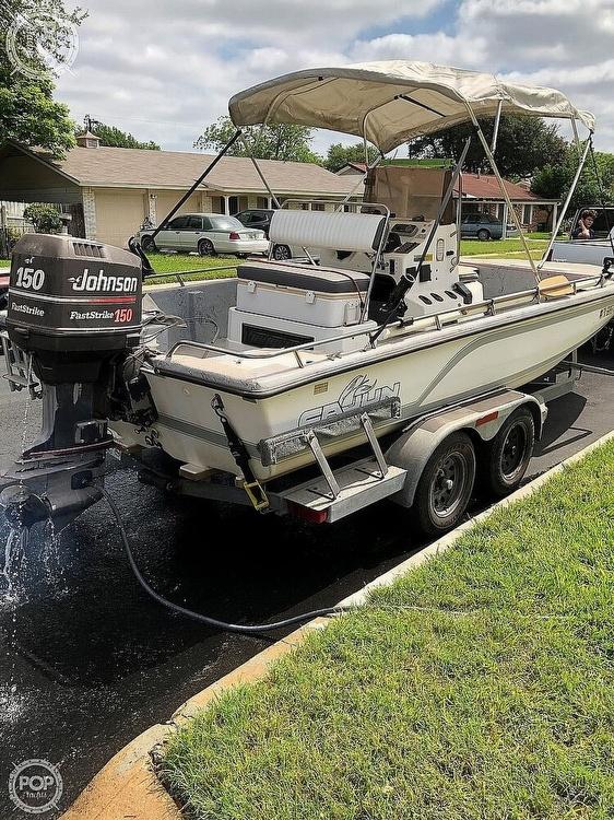 1992 Cajun 2100 Fishmaster - #$LI_INDEX