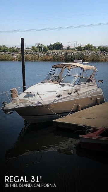 Used Regal Boats For Sale in California by owner | 2005 Regal Commodore 2860