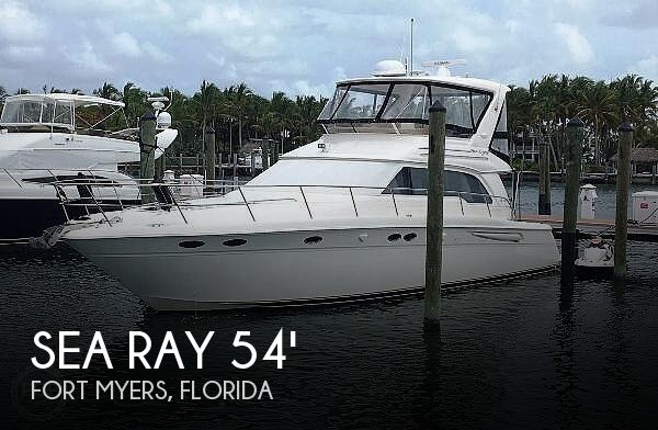Used Sea Ray Boats For Sale by owner | 1998 Sea Ray 480 Sedan Bridge