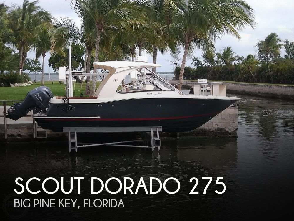 2018 SCOUT DORADO 275 for sale