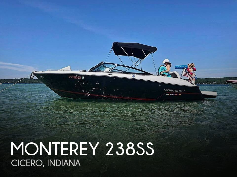 Used Boats For Sale in Indianapolis, Indiana by owner | 2018 Monterey 238ss
