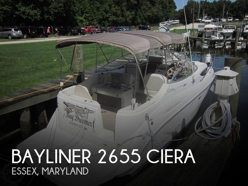 Used Bayliner Boats For Sale in Maryland by owner | 2001 Bayliner 2655 CIERA