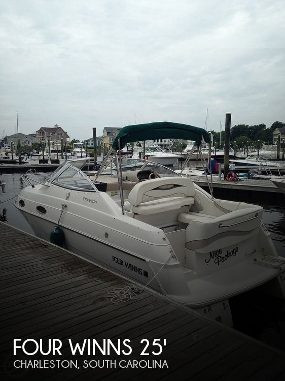 Used Four Winns 258 Vista Boats For Sale by owner | 1998 Four Winns 258 Vista