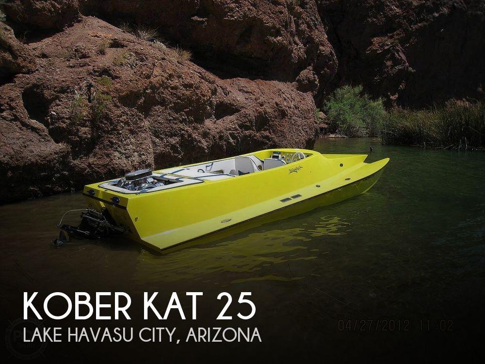 Used Kober Kat Boats For Sale by owner   2002 Kober Kat 25