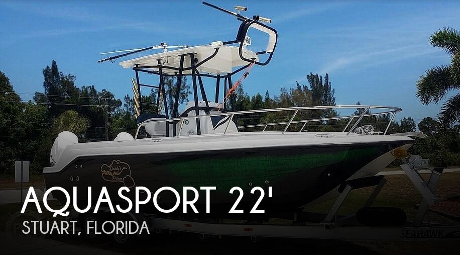 Used Aquasport Boats For Sale by owner | 2001 Aquasport 22