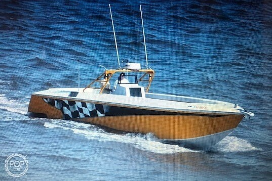 2003 Team Persuasion boat for sale, model of the boat is 45CCF & Image # 12 of 40