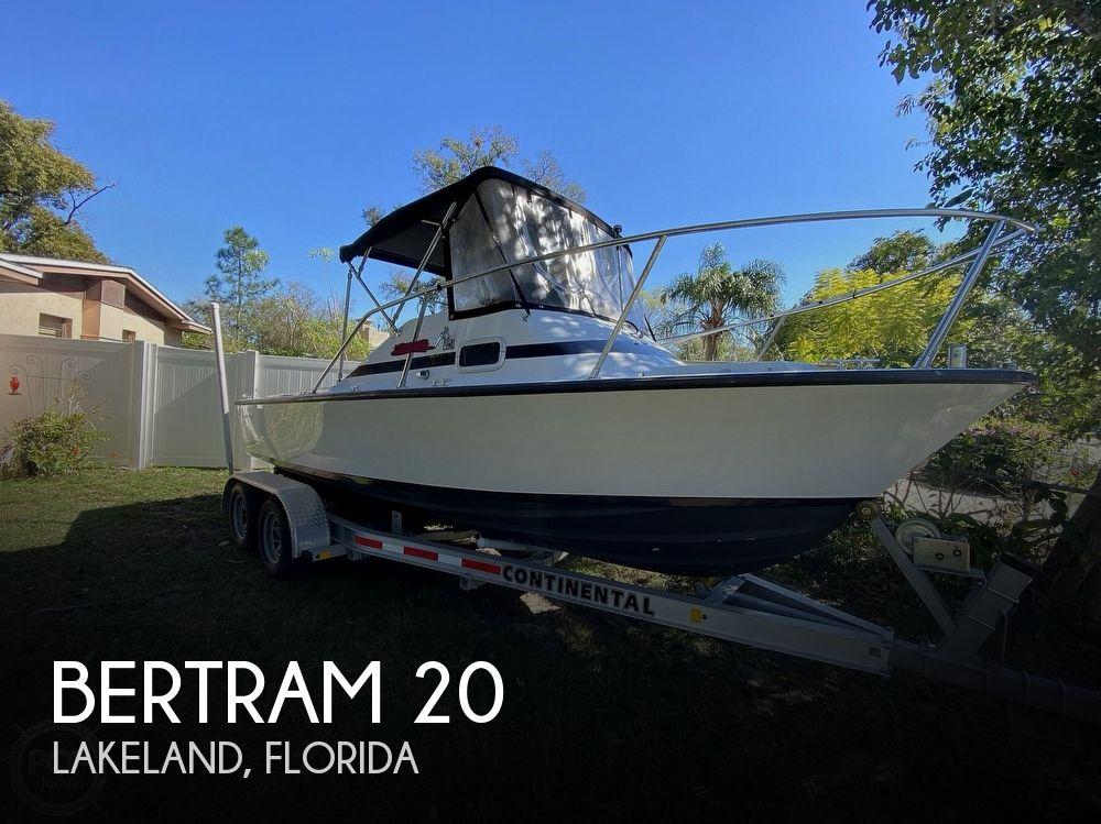 1965 BERTRAM 20 BAHIA MAR for sale