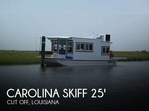 Used Houseboats For Sale in Louisiana by owner | 2009 Carolina Skiff 25 X 8