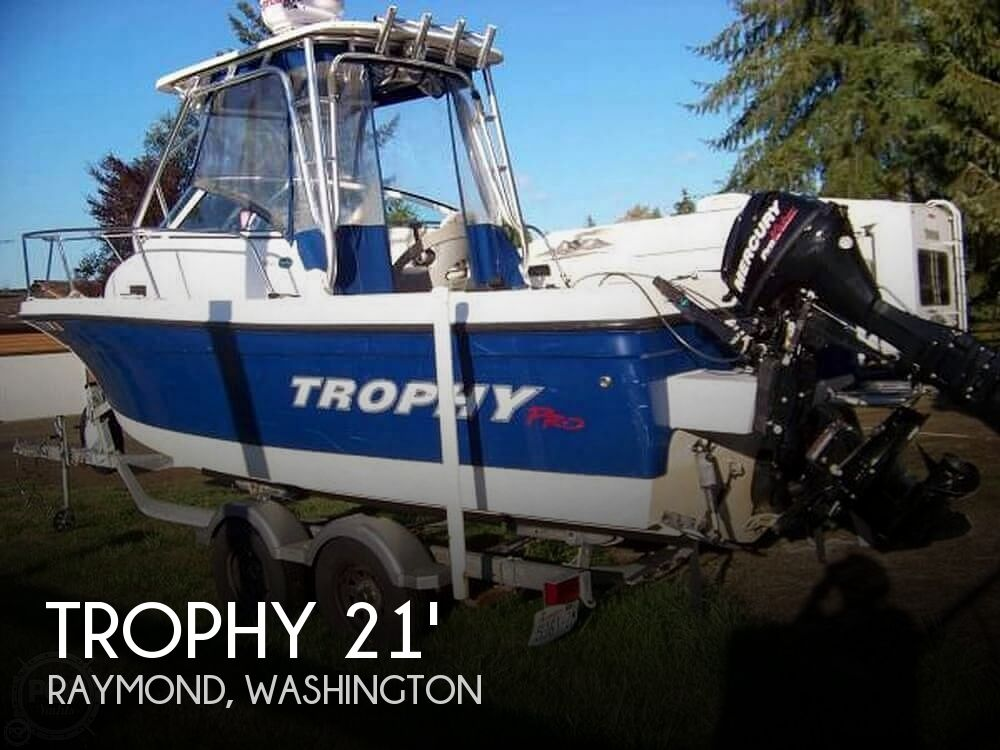 Used Trophy Boats For Sale in Washington by owner   2011 Trophy 2152WA HT