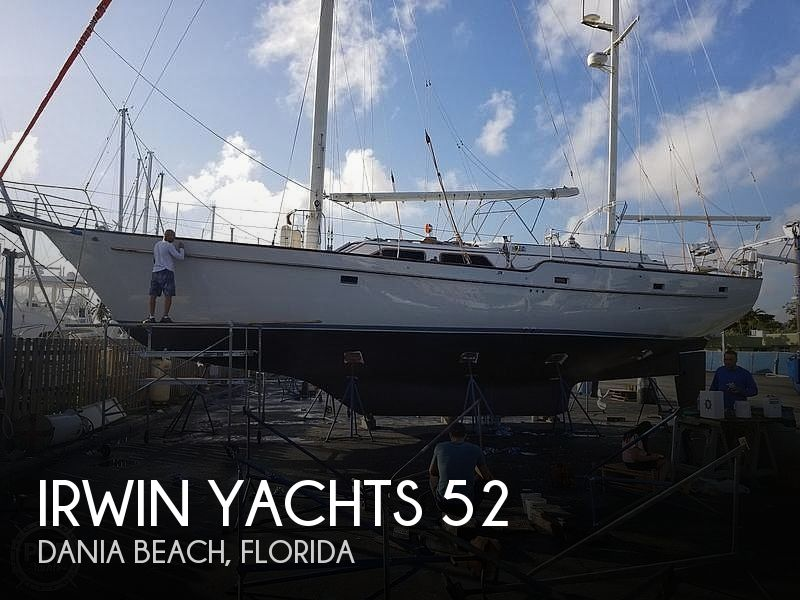 Used Irwin Boats For Sale by owner | 1987 Irwin Yachts 52