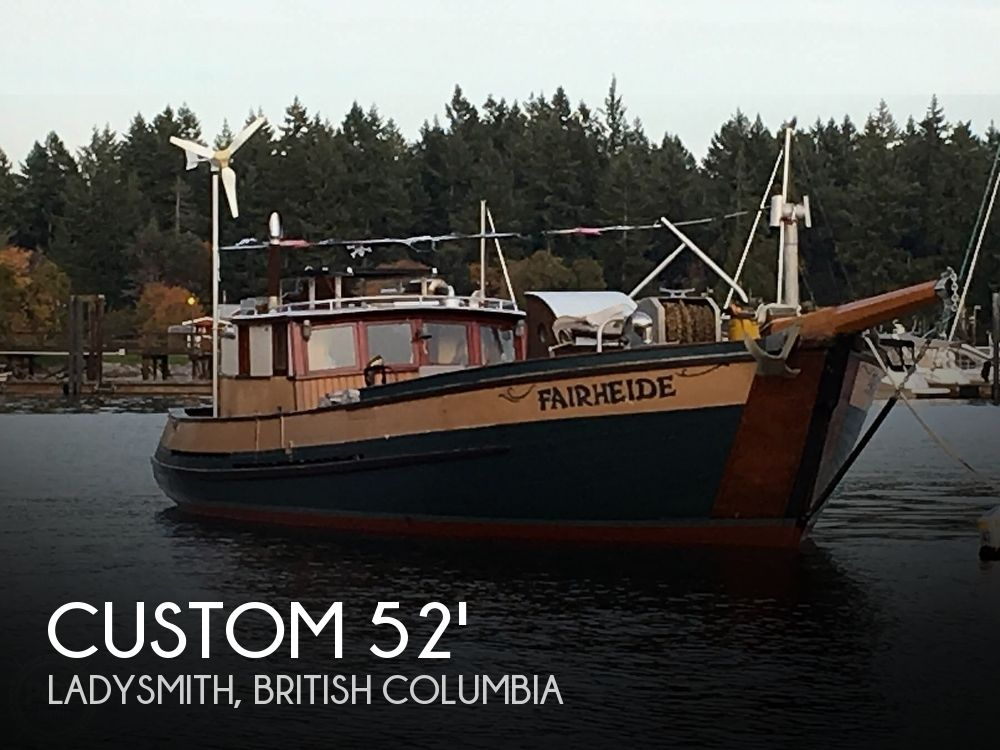 1976 Custom boat for sale, model of the boat is 52' & Image # 1 of 40