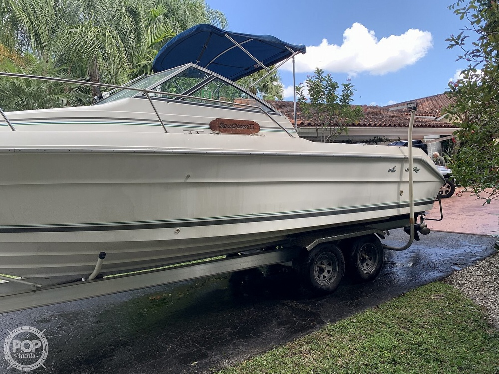 1990 Sea Ray boat for sale, model of the boat is Laguna 24 Flush Deck Cuddy & Image # 10 of 40