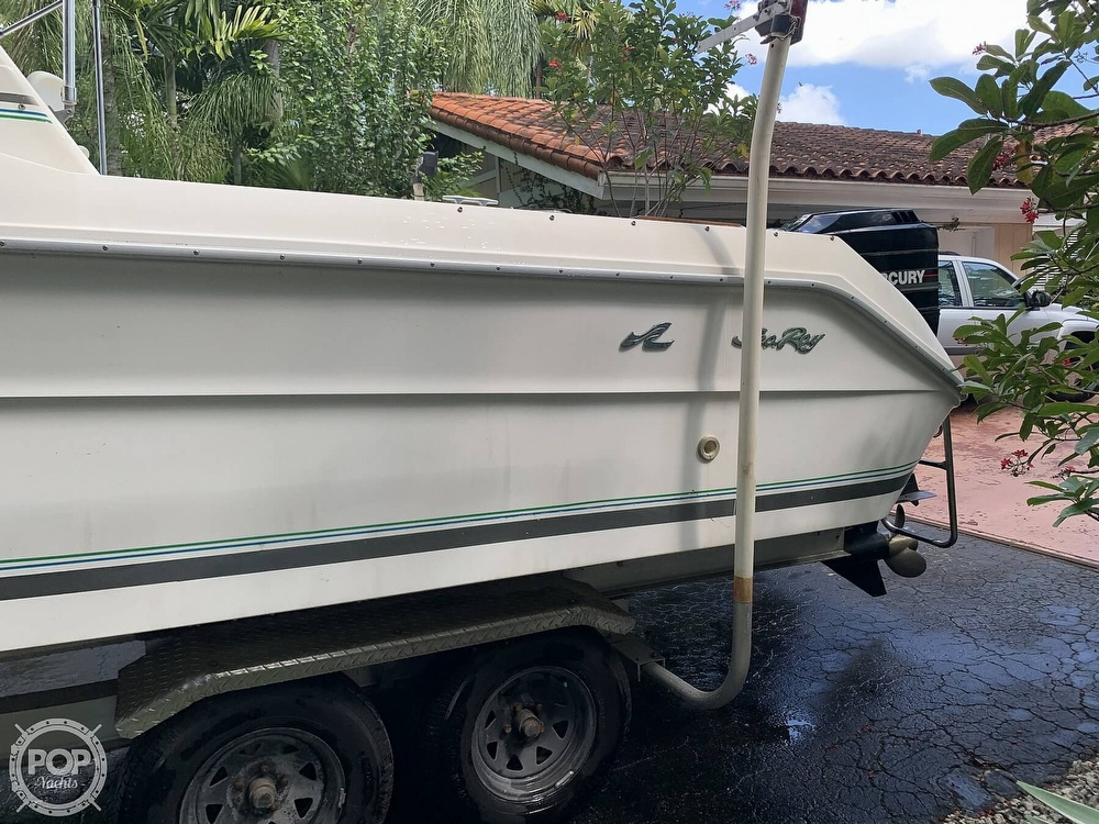 1990 Sea Ray boat for sale, model of the boat is Laguna 24 Flush Deck Cuddy & Image # 11 of 40