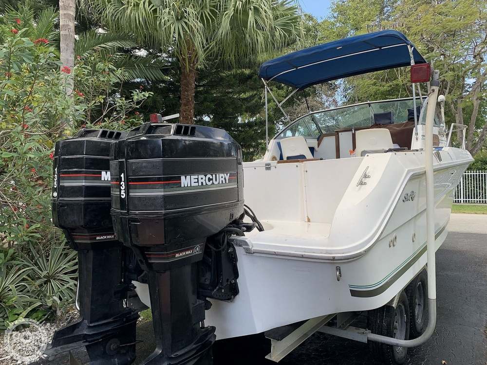 1990 Sea Ray boat for sale, model of the boat is Laguna 24 Flush Deck Cuddy & Image # 4 of 40