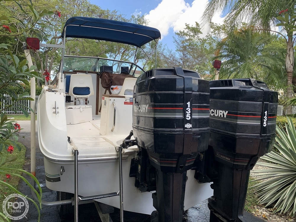 1990 Sea Ray boat for sale, model of the boat is Laguna 24 Flush Deck Cuddy & Image # 18 of 40