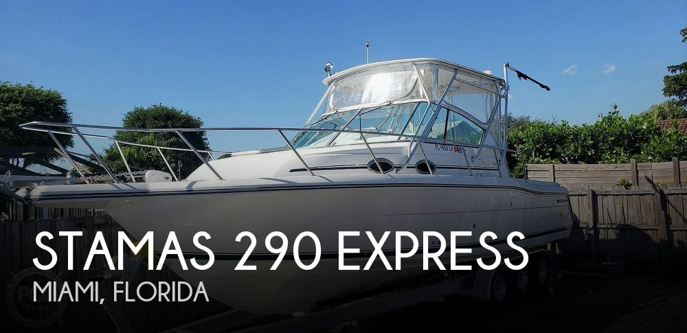 Used Stamas Boats For Sale by owner | 2000 Stamas 29