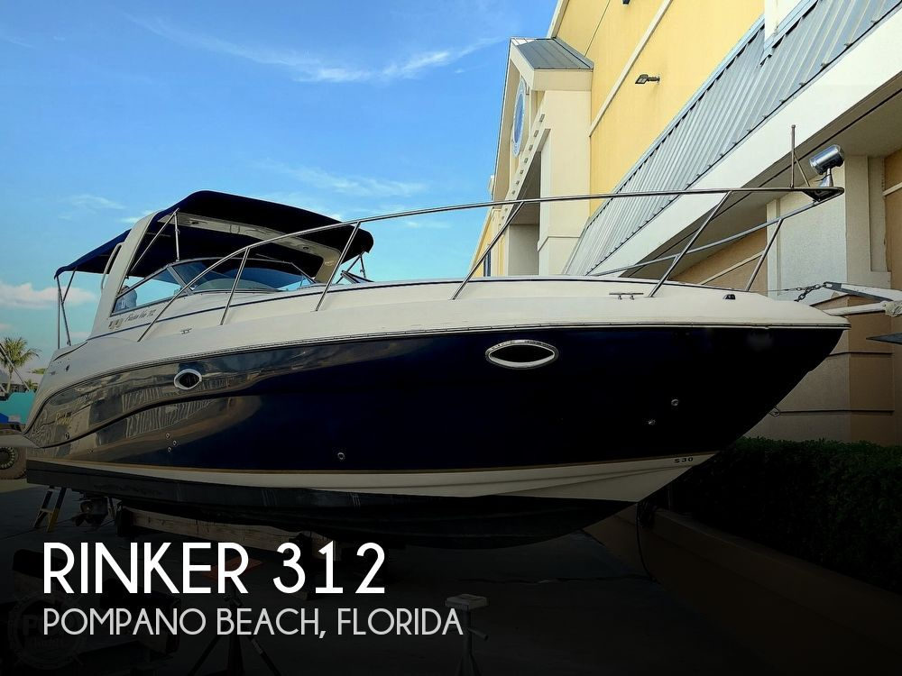 Used Rinker 31 Boats For Sale by owner   2003 Rinker Fiesta Vee 312