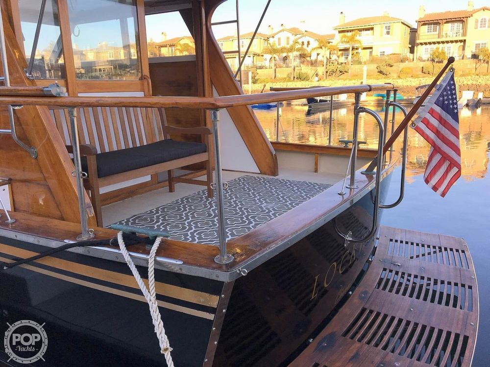 1960 Tollycraft boat for sale, model of the boat is 36 & Image # 4 of 40