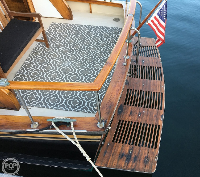 1960 Tollycraft boat for sale, model of the boat is 36 & Image # 7 of 40