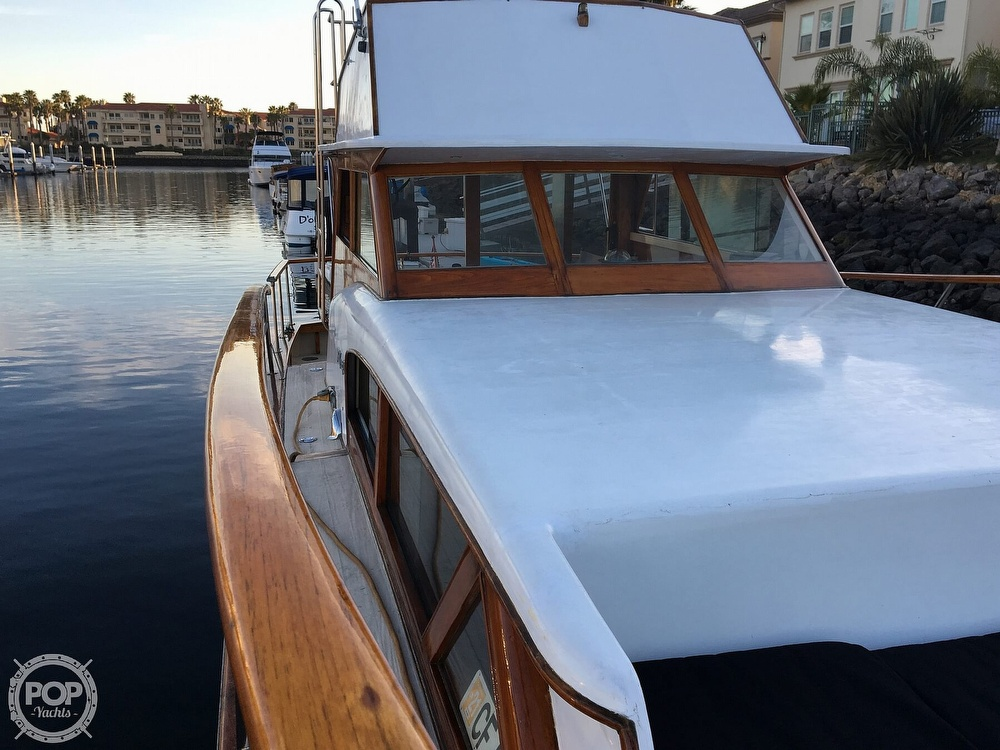 1960 Tollycraft boat for sale, model of the boat is 36 & Image # 20 of 40
