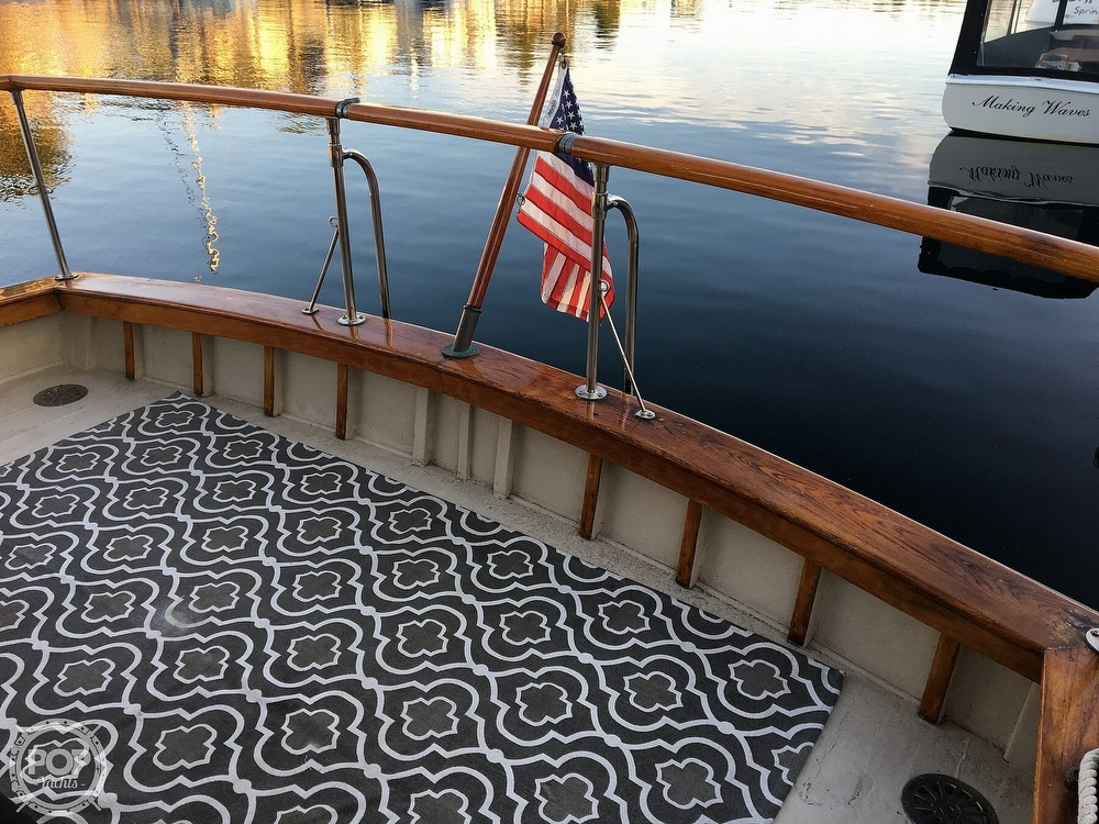 1960 Tollycraft boat for sale, model of the boat is 36 & Image # 22 of 40