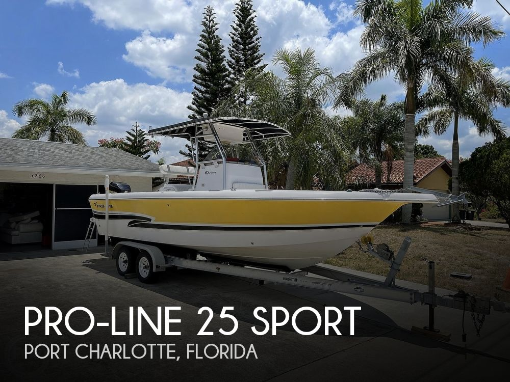 2002 Pro-Line boat for sale, model of the boat is 25 Sport & Image # 1 of 40