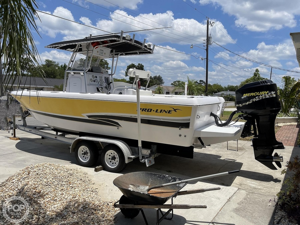 2002 Pro-Line boat for sale, model of the boat is 25 Sport & Image # 5 of 40