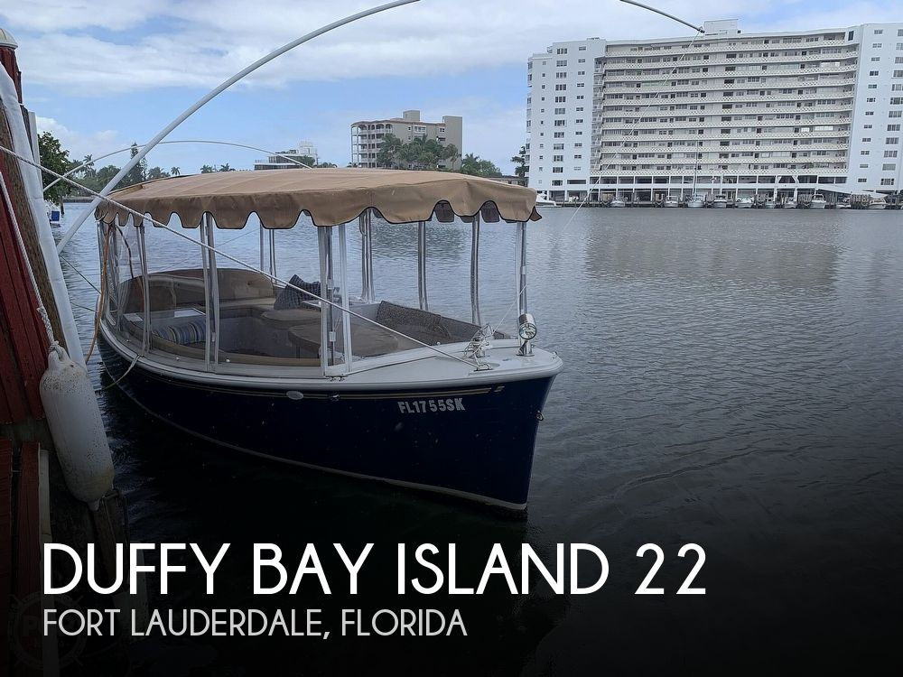 Used DUFFY Deck Boats For Sale by owner | 2017 Duffy Bay Island 22