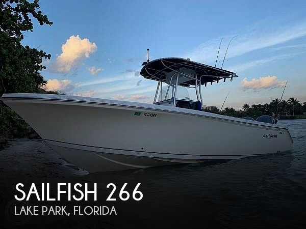 Used Sailfish Boats For Sale by owner | 2003 Sailfish 266