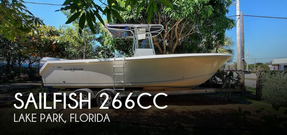 2003 SAILFISH 266CC for sale