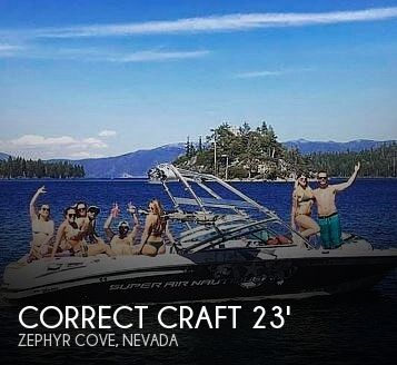 Used Boats For Sale in Reno, Nevada by owner | 2008 Correct Craft 230 Super Air Nautique