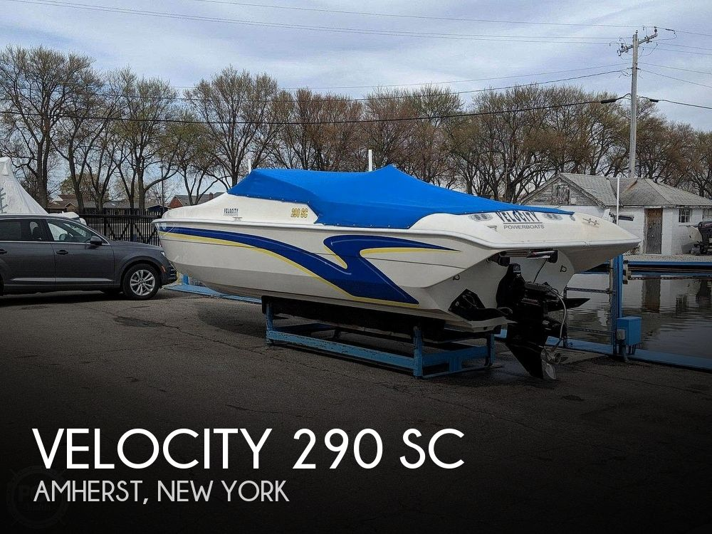 Used Velocity Boats For Sale by owner | 2004 Velocity 29 SC