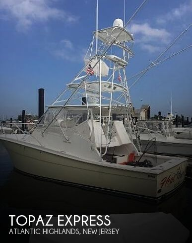 Used Topaz Boats For Sale by owner | 2006 32 foot Topaz Express