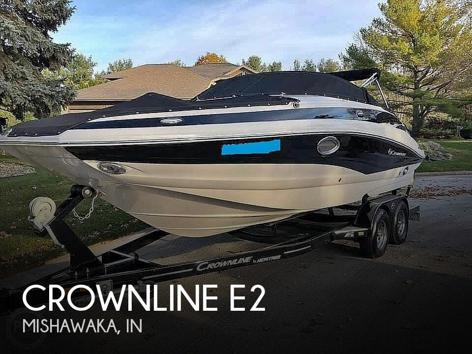 Used Boats For Sale in Fort Wayne, Indiana by owner | 2015 Crownline E2