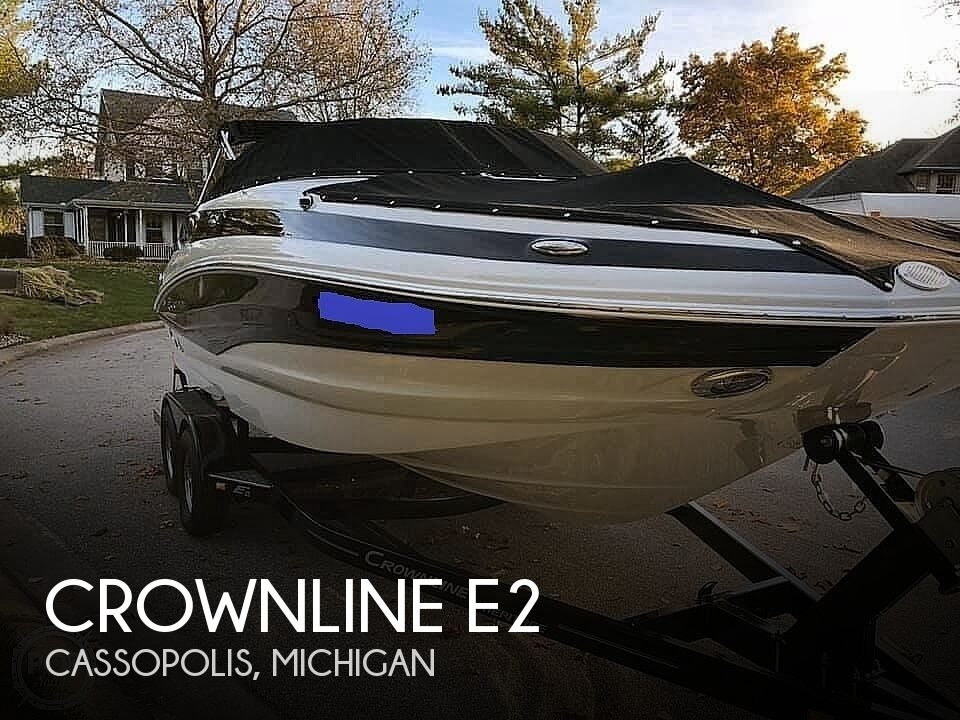 2015 Crownline boat for sale, model of the boat is E2 & Image # 1 of 40