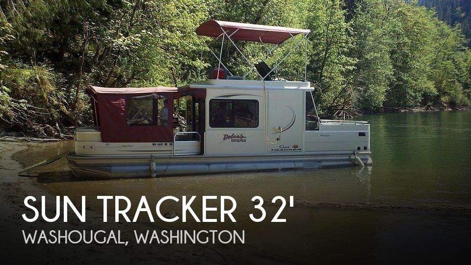 Used Sun Tracker Boats For Sale in Washington by owner | 2005 Sun Tracker Party Barge 32