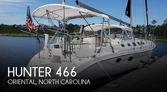 2004 HUNTER 466 for sale