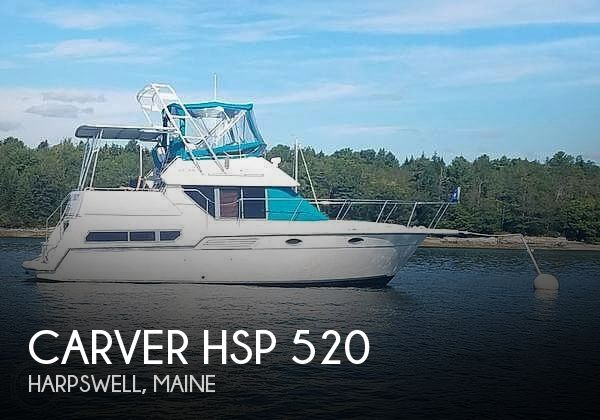 Used Carver HSP 520 Boats For Sale by owner | 1995 Carver HSP 520