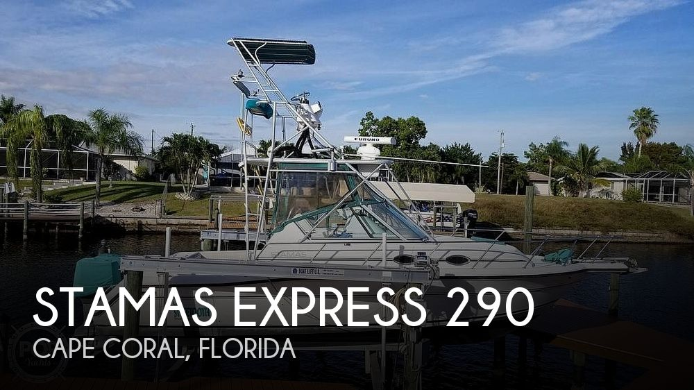 1993 Stamas boat for sale, model of the boat is EXPRESS 290 & Image # 1 of 40
