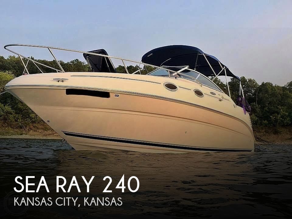 Used Sea Ray 240 Sundancer Boats For Sale by owner | 2001 Sea Ray 240 Sundancer