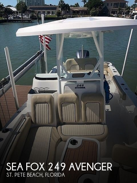 Used Sea Fox Boats For Sale by owner | 2017 Sea Fox 249 Avenger