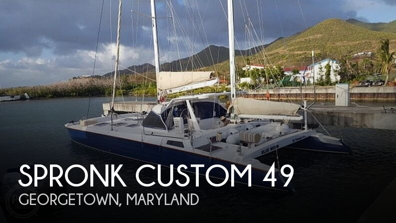 Used Boats For Sale in Maryland by owner | 1979 Spronk Custom 49