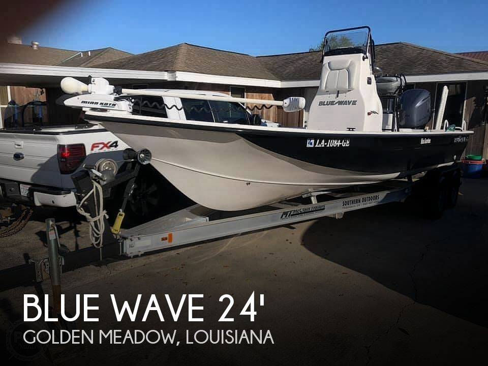 Used Blue Wave Boats For Sale by owner | 2015 Blue Wave 25 Southern Skiff