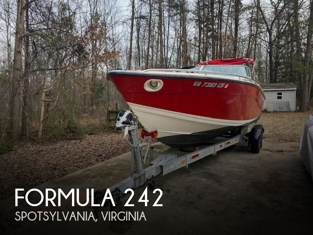 Used Boats For Sale by owner | 1987 Formula 242