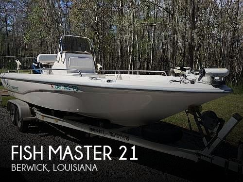 Used Fish Master Boats For Sale by owner | 2001 Fish Master 21