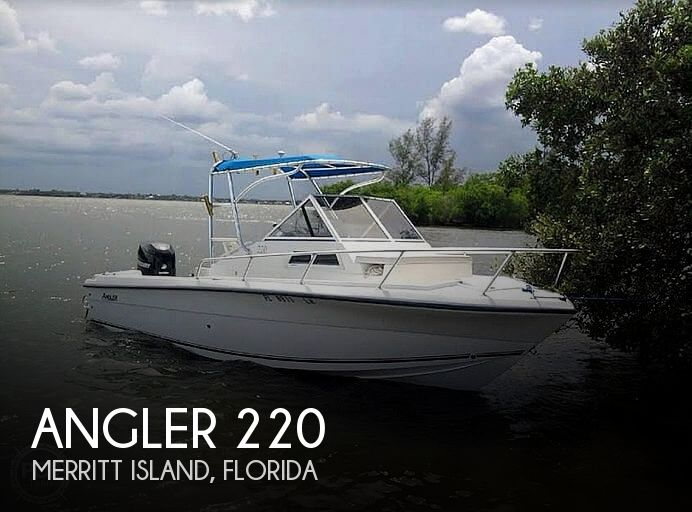 Used Angler Boats For Sale by owner | 2000 Angler 220