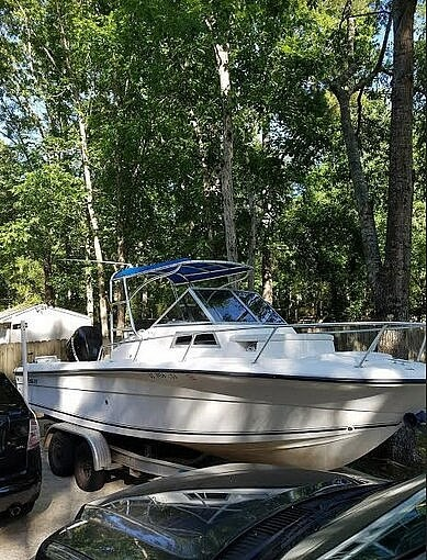 2000 American Angler boat for sale, model of the boat is 220 & Image # 8 of 41