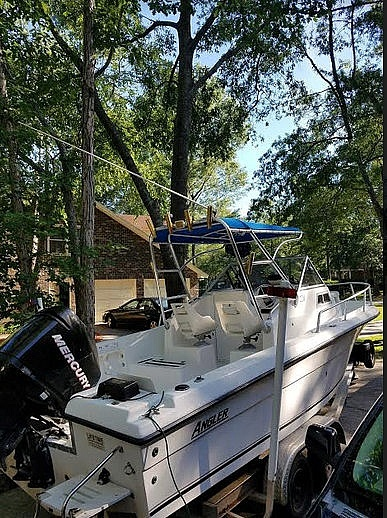 2000 American Angler boat for sale, model of the boat is 220 & Image # 9 of 41