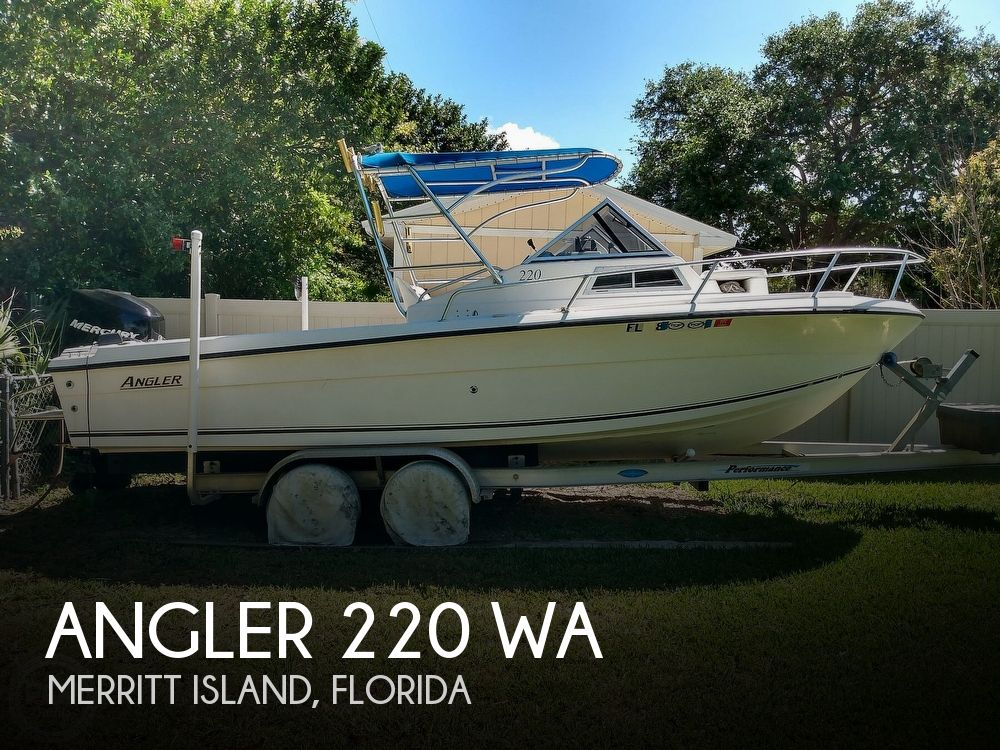2000 American Angler boat for sale, model of the boat is 220 & Image # 1 of 41